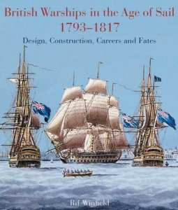 British Warships in the Age of Sail 1793-1817 book cover
