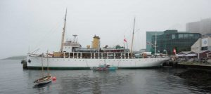CSS Acadia at the Maritime Museum of the Atlantic in Halifax