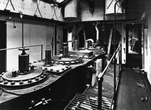 Acadia engine room